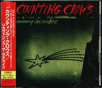 K - Counting Crows - Recovering the Satellites - 日版 +OBI