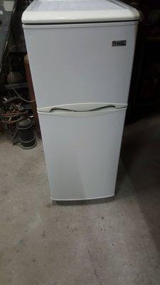 東元雙門冰箱上冷凍下冷藏八成新3900保固