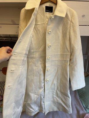 日本品牌 CLEAR IMPRESSION  輕白色毛衣外套. 600競標