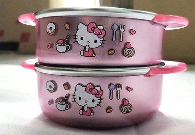 韓國進口 Hello kitty  不鏽鋼碗《350ml》