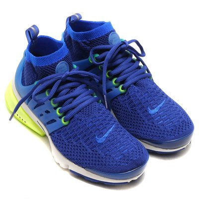 =CodE= NIKE W AIR PRESTO FLYKNIT ULTRA 襪套編織慢跑鞋(藍)835738-401女