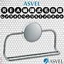 日本品牌【ASVEL】磁鐵式毛巾環 K- 2515...