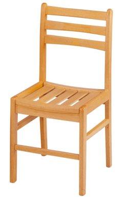 【南洋風休閒傢俱】勤學書房系列- 三橫椅 書桌椅 課桌椅 補習班椅 學習椅(金623-5)