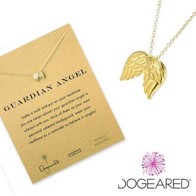 Dogeared 項鍊 台北ShopSmart直營店 翅膀 守護天使 Guardian Angel 生日禮物 金色許願項鍊 現貨