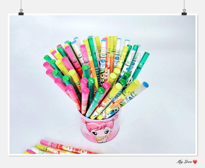 河馬班-文具系列-HB可愛鉛筆(1入)-多種款式隨機出貨~