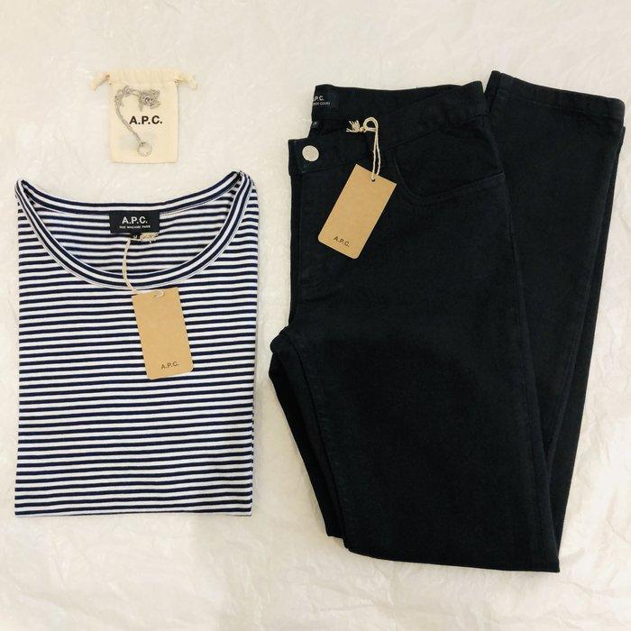 [ RainDaniel ] A.P.C. 黑色 牛仔褲 直筒褲