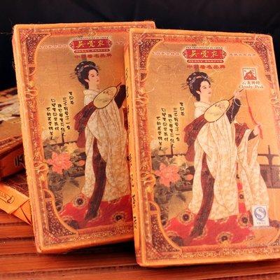 吳覺農牌貴妃茶磚 普洱茶 普洱茶磚 吳覺農普洱茶 中國傳統茶飲 【全健健康生活館】