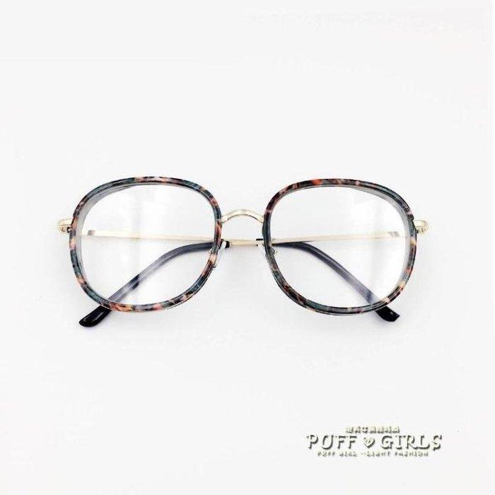 韓版輕大框眼鏡框 潮女士男個性百搭時尚可配平光鏡