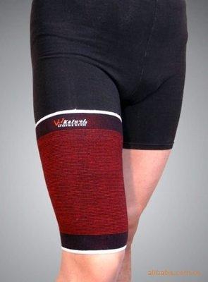 1632909    凱威 0731彩色大腿束套 足球運動大腿護套 防止受傷護大腿 家用健身
