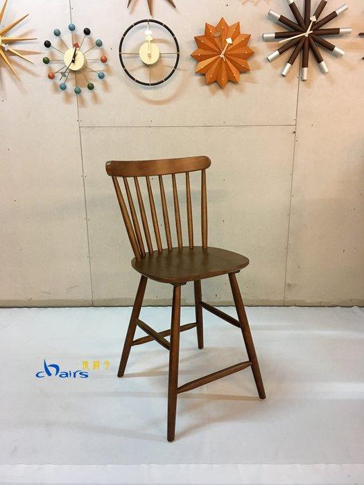 【挑椅子】北歐風實木中島椅 (復刻品) ZY-ST09-2