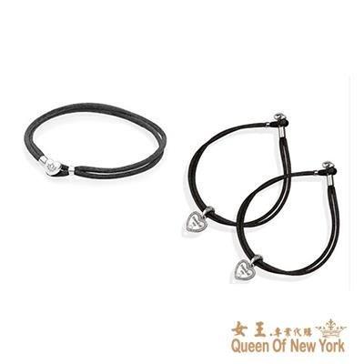 紐約女王代購 Pandora 潘多拉 時尚愛心頭織料手鍊 925純銀 Charms 美國代購 可分期