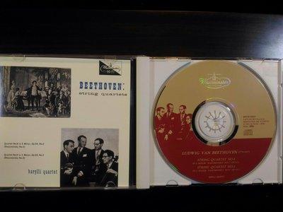 BARYLLI QUARTET ~ 貝多芬 ~BEETHOVEN~ 弦樂四重奏全集CD,共八張 CD,經典銘盤,稀有 - 如新。