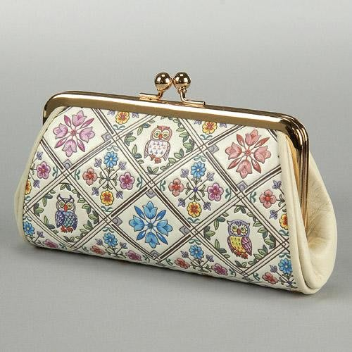 鐵口包!日本製牛皮 收納包 鐵口包 零錢包 手拿包 #51K-3105XAAA