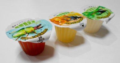 微笑的魚水族☆【甲蟲專用高營養果凍(16g)】黑糖.優格.水果口味