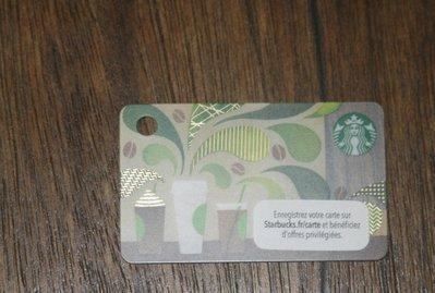 starbucks 星巴克 隨行卡 儲值卡 法國 2015 咖啡 飲料 限量 隨行卡 儲值卡 卡片 收集