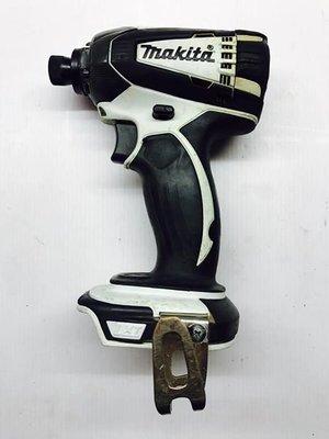 (二手中古外匯) 牧田 Makita MAKITA 18V 二刷限量白衝擊起子 空機無電池充電器