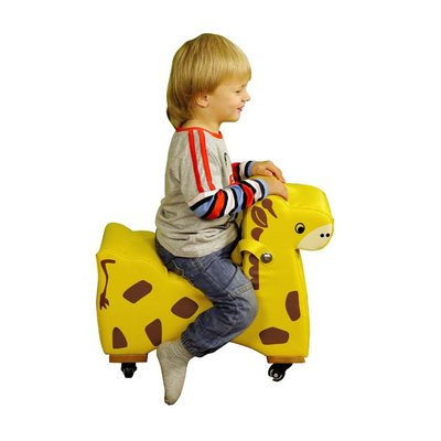【晴晴百寶盒】台灣品牌 動物腳行車 WISDOM 騎乘遊戲 教具益智遊戲 環保無毒玩具 檢驗合格W911