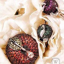 :::W.G:::歐美奢華高級訂製系列蘋果鑲嵌戒指 Chopard