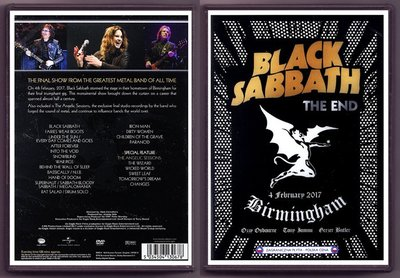 音樂居士#Black Sabbath The End Live in Birmingham 2017 () DVD
