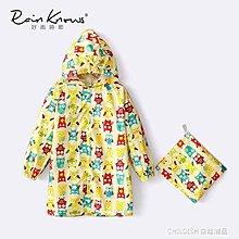 全店折扣活動 兒童雨衣男童女童寶寶雨披貓頭鷹卡通印花