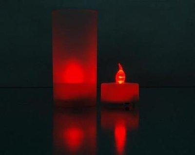 祥茂汽球批發-紅燈無聲控(含燈罩)蠟燭小夜燈/畢業/生日派對/婚禮小物/批發17元