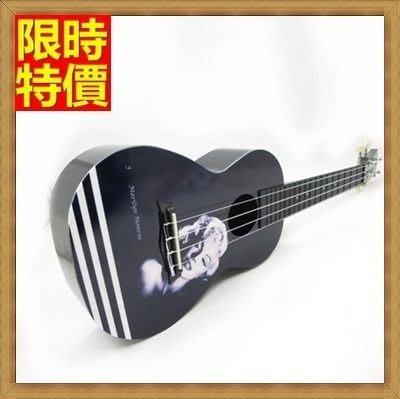 烏克麗麗 ukulele-24吋可愛印花夏威夷吉他四弦琴樂器6款69x40[獨家進口][米蘭精品]