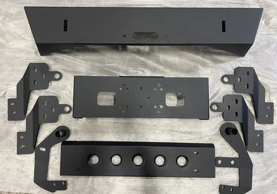 [機油倉庫]附發票JIMNY JB74 WMD前絞盤短保桿