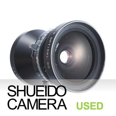集英堂写真機【1個月保固】良上品 FUJI FUJINON SW 90mm F8 鏡頭 COPAL 0號快門 12852