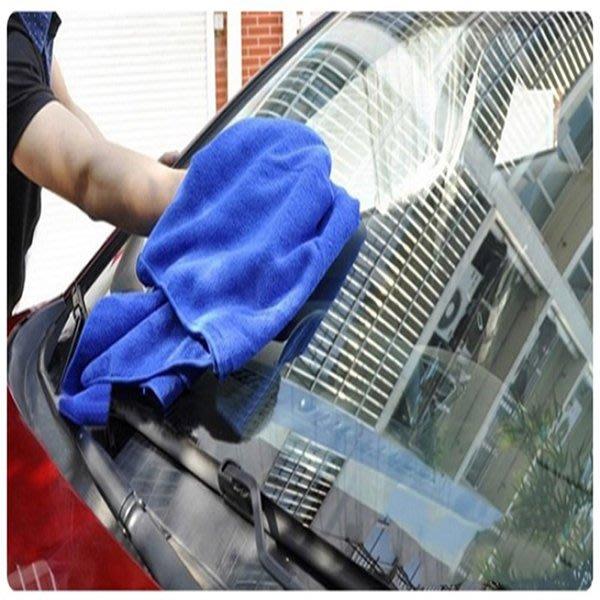 【洗車中毛巾】美容擦車超細纖維超吸水洗車巾 汽車用 清潔擦車巾 居家抹布☆意樂舖