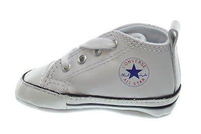 【SL】CONVERSE CHUCK TAYLOR 白色 皮革 嬰幼兒鞋 US 1~4 81229 C