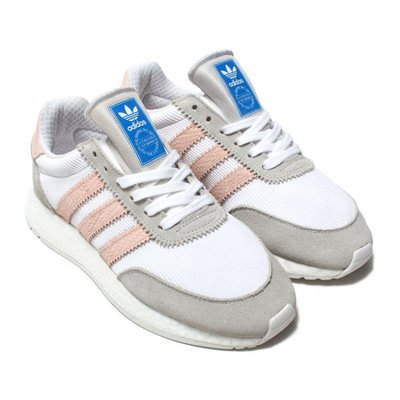 ADIDAS ORIGINALS I-5923 BOOST白粉紅 灰 白 灰粉 楊冪 慢跑鞋 D97348 請先詢問庫存