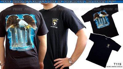 【ARMYGO】美國 7.62 軍事T恤 -陸軍系列 -101st AIRBORNE 'SCREAMING EAGLE'
