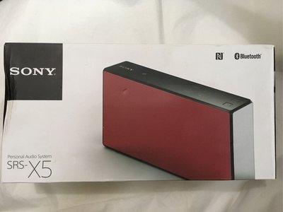 ( 全新 ) ( 行版 ) SONY SRD-X5 NFC BLUETOOTH WIRELESS SPEAKER PERSONAL AUDIO