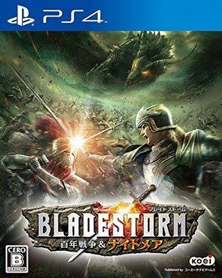 【二手遊戲】PS4 BLADESTORM 百年戰爭 夢魘魔境 日文版 (9成新)【台中恐龍電玩】