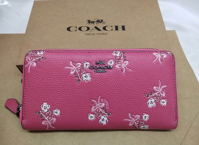 COACH 女生皮夾 卡片夾 手拿包 零錢包 錢夾 女夾 長夾 附購證