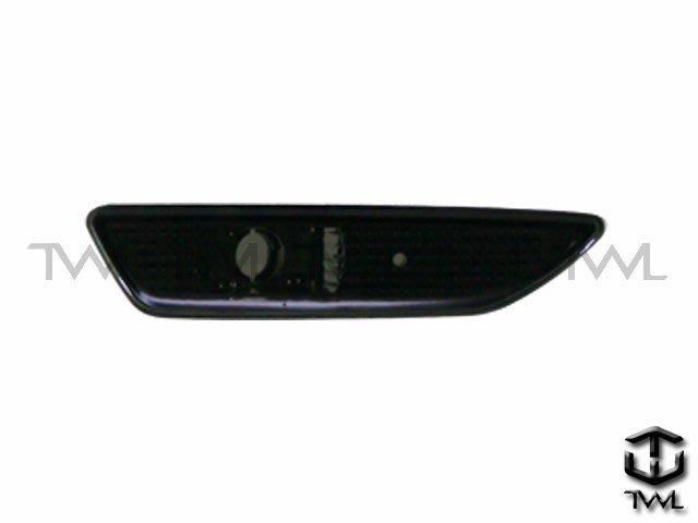 《※台灣之光※》全新BENZ R230 08 09 10 11年小改款美規薰黑保桿側燈組SL55 SL63 AMG