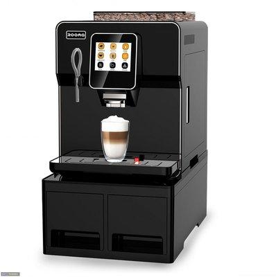 創傑包裝*CJ-A8H全自動多功能咖啡機*義大利進水泵*雙鍋爐設計*溫度穩定*全自動清洗程式*奶泡清洗程式*