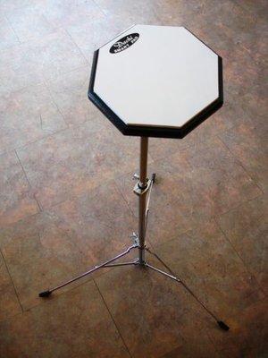 ☆ 唐尼樂器︵☆台灣製 Dachi 爵士鼓靜音練習橡膠打點板/打擊板(隨時隨地練習打點)
