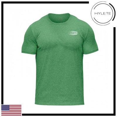 ►瘋狂金剛◄ 綠色 HYLETE Slash Tri-Blend Crew Tee  柔軟 透氣 運動 短袖T恤