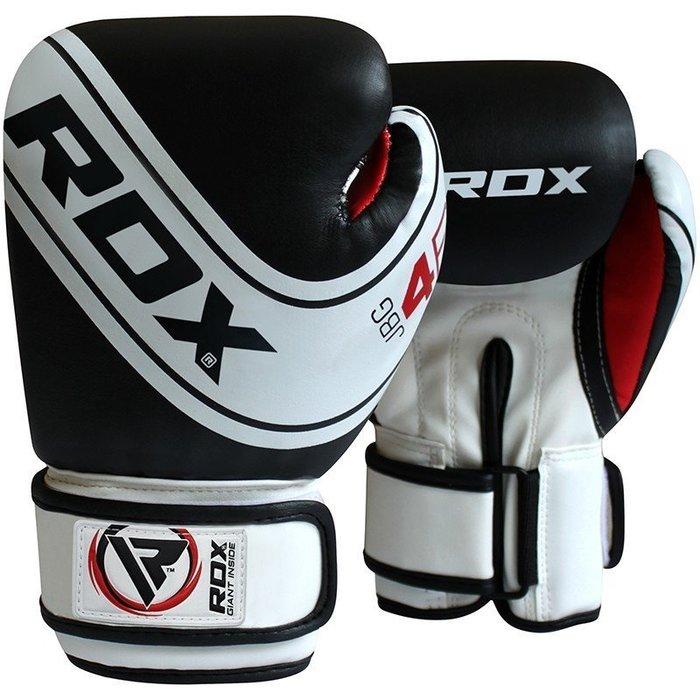 【神拳阿凱】RDX 英國 JBG-4B 兒童拳擊手套 拳套 黑白色(免運)