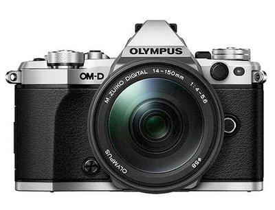 Olympus E-M5 Mark II Kit 銀色〔含 14-150mm II 〕平行輸入 (4)
