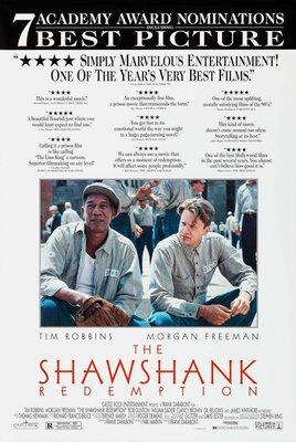刺激1995 (The Shawshank Redemption) - 得獎版美國原版雙面電影海報 (1995年)