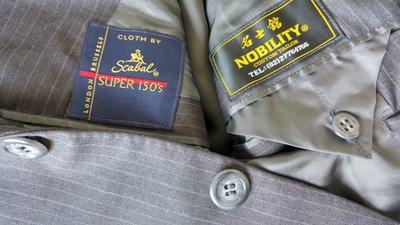 企業主最愛全球西服得獎長勝軍名士館手工訂製西服 Scabal Super 150's