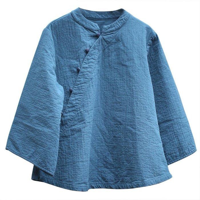 春裝設計款中國風復古典雅上衣(老銀屋)