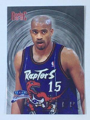 1998-99 Fleer Brilliants Rookie #105 Vince Carter RC Raptors