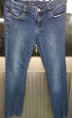 bossini藍色牛仔褲 可超商純取貨