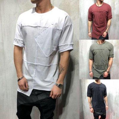 top Short T-Shirt Men tee sleeve sport casual summer 2019new 黑騎士ヶ