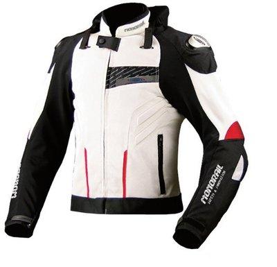 monorail JK015進口鈦合金防護服賽車服護頸護胸4季服360°防護防摔賽車騎士服