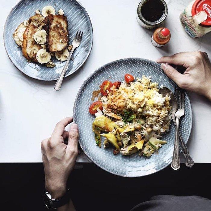 「起點3c」lototo日式陶瓷餐具魚盤子家用菜盤子兒童盤西餐牛排盤早餐餃子盤-免運費