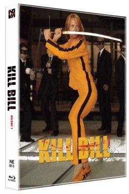 毛毛小舖--現貨 藍光BD 追殺比爾 KILL BILL 幻彩套限量鐵盒版(中文字幕) 昆汀塔倫提諾 烏瑪舒曼